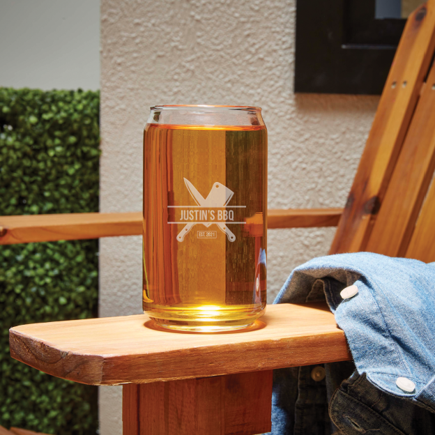 Image for 16 oz. Beer Can Glass